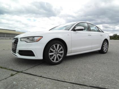 2012 AUDI A6 3.0T - WHITE ON BLACK 1