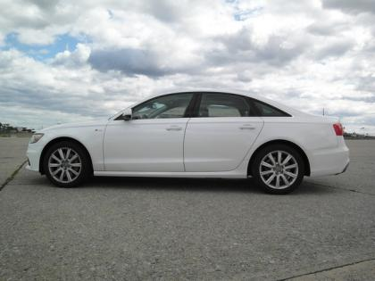 2012 AUDI A6 3.0T - WHITE ON BLACK 2