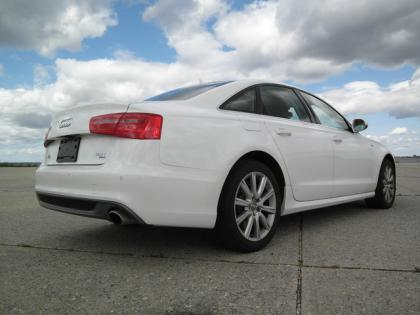 2012 AUDI A6 3.0T - WHITE ON BLACK 3
