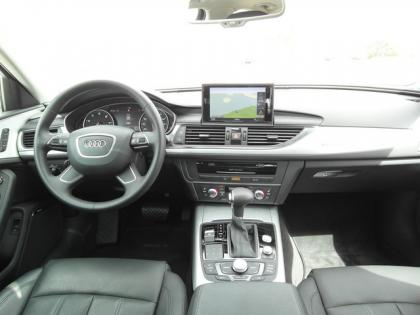2012 AUDI A6 3.0T - WHITE ON BLACK 8