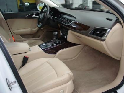2012 AUDI A6 3.0T - WHITE ON BEIGE 5