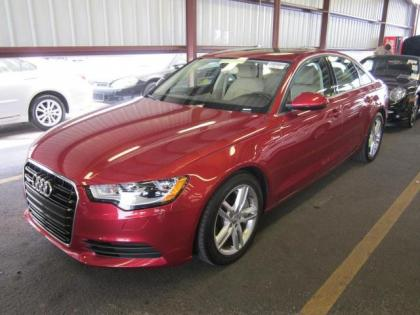 2012 AUDI A6 3.0T - RED ON BEIGE