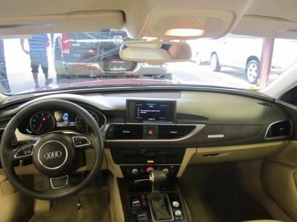 2012 AUDI A6 3.0T - RED ON BEIGE 4