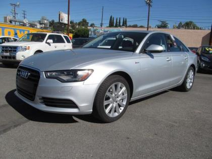 2013 AUDI A6 3.0T QUATTRO - SILVER ON BLACK