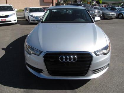 2013 AUDI A6 3.0T QUATTRO - SILVER ON BLACK 2