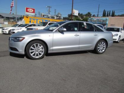 2013 AUDI A6 3.0T QUATTRO - SILVER ON BLACK 3