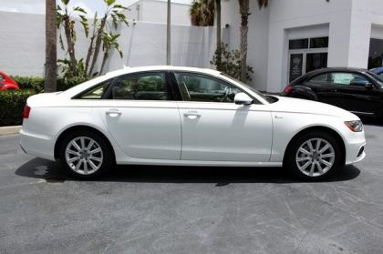 2012 AUDI A6 3.0T - WHITE ON BEIGE 2