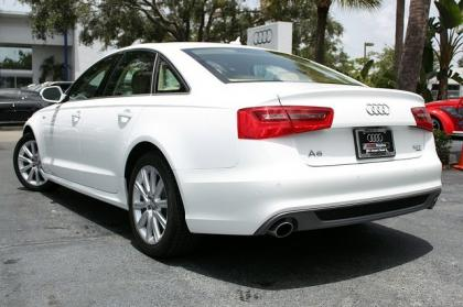2012 AUDI A6 3.0T - WHITE ON BEIGE 3
