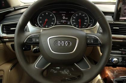 2012 AUDI A6 3.0T - WHITE ON BEIGE 6