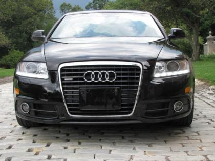 2011 AUDI A6 3,0T - WHITE ON BLACK 1