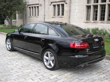 2011 AUDI A6 3,0T - WHITE ON BLACK 3