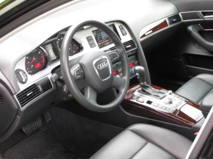 2011 AUDI A6 3,0T - WHITE ON BLACK 6