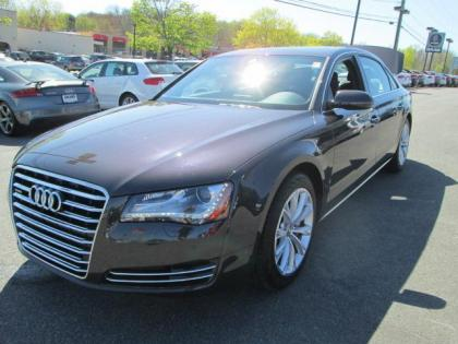 2013 AUDI A8 L - GRAY ON BLACK
