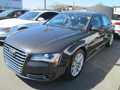 2012 AUDI A8 L - GRAY ON BLACK