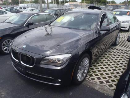 2012 BMW 750LI V* - GRAY ON BLACK