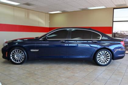 Export Used 2010 Bmw 750li Base Blue On Black