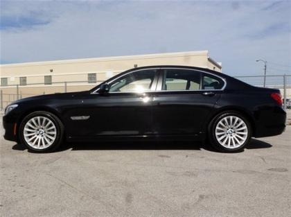 Export Used 2012 Bmw 750li Xdrive Black On Black