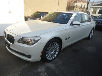 2010 BMW 750LI XDRIVE - WHITE ON BEIGE