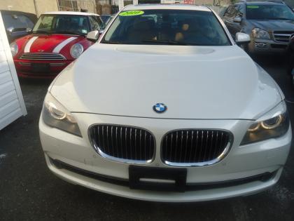 Export Used 2010 Bmw 750li Xdrive White On Beige