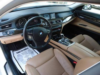 Export Used 2010 BMW 750LI XDRIVE - WHITE ON BEIGE