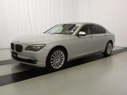 2012 BMW 750LI XDRIVE - SILVER ON BLACK