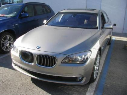 2012 BMW 750LI V8 - GOLD ON BROWN
