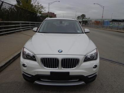 2014 BMW X1 BASE - WHITE ON BLACK 2