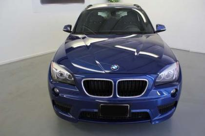 2013 BMW X1 SDRIVE28I - BLUE ON BLACK