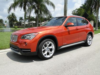 2013 BMW X1 SDRIVE28I - ORANGE ON BLACK