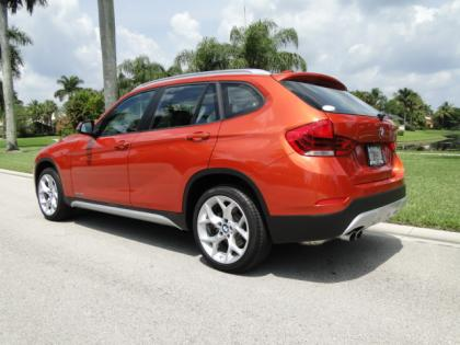Export Used 2013 Bmw X1 Sdrive28i Orange On Black