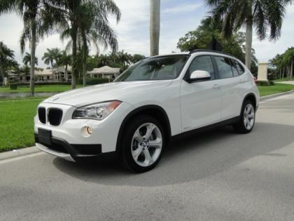 2013 BMW X1 XDRIVE35I - WHITE ON BEIGE