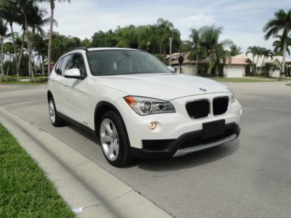 2013 BMW X1 XDRIVE35I - WHITE ON BEIGE 2