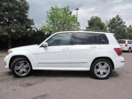 2013 MERCEDES BENZ GLK350 4MATIC - WHITE ON BLACK 1