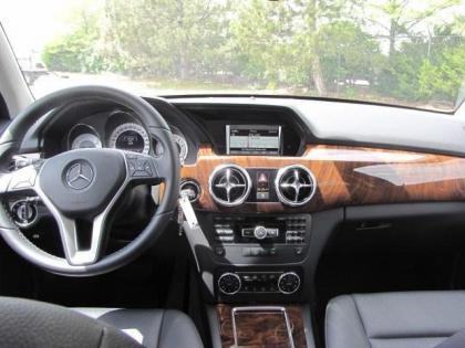 2013 MERCEDES BENZ GLK350 4MATIC - WHITE ON BLACK 4
