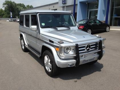 2010 MERCEDES BENZ G550 4MATIC - SILVER ON BLACK