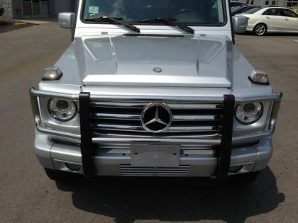 2010 MERCEDES BENZ G550 4MATIC - SILVER ON BLACK 2