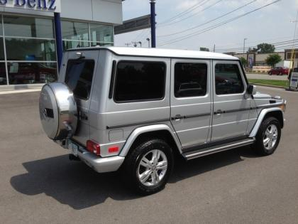 2010 MERCEDES BENZ G550 4MATIC - SILVER ON BLACK 3