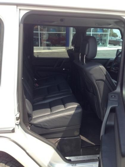 2010 MERCEDES BENZ G550 4MATIC - SILVER ON BLACK 5