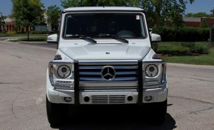 2013 MERCEDES BENZ G550 4MATIC - WHITE ON BLACK 2