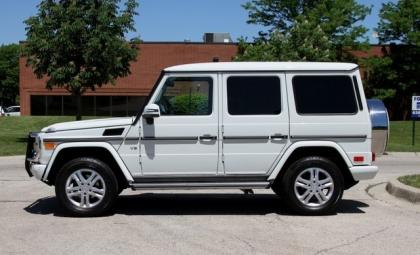 2013 MERCEDES BENZ G550 4MATIC - WHITE ON BLACK 3