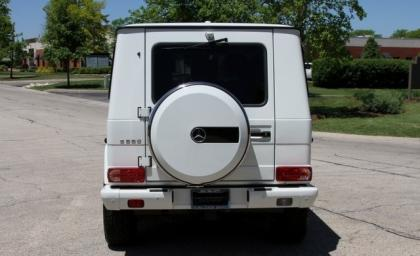 2013 MERCEDES BENZ G550 4MATIC - WHITE ON BLACK 4