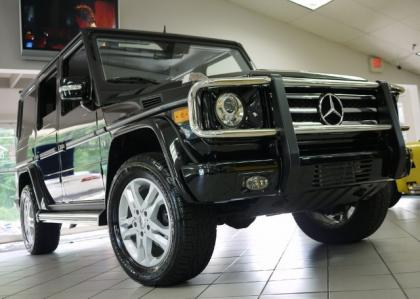 2012 MERCEDES BENZ G550 4MATIC - BLACK ON BLACK