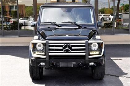 2013 MERCEDES BENZ G550 4MATIC - BLACK ON BLACK