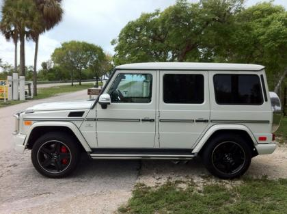2013 MERCEDES BENZ G63 AMG - WHITE ON WHITE 3