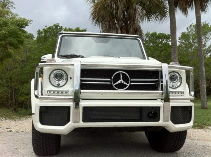 2013 MERCEDES BENZ G63 AMG - WHITE ON WHITE 4