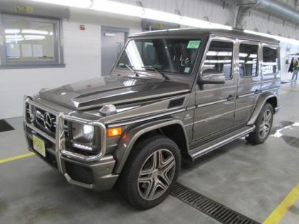 2013 MERCEDES BENZ G63 AMG - GRAY ON BLACK