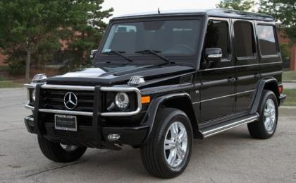 2009 MERCEDES BENZ G550 4MATIC - BLACK ON BLACK