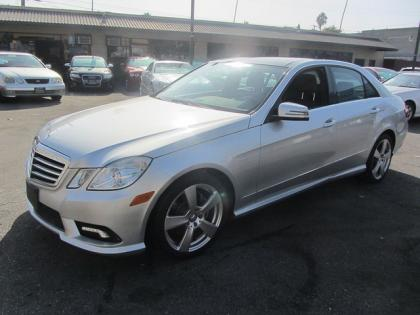 2011 MERCEDES BENZ E350 BASE - SILVER ON BLACK