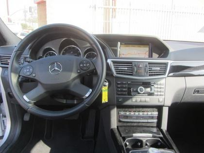 2011 MERCEDES BENZ E350 BASE - SILVER ON BLACK 4