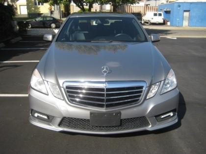 2011 MERCEDES BENZ E350 BASE - GRAY ON BLACK 2